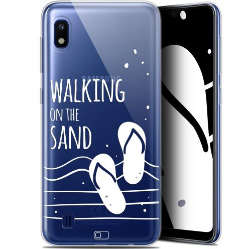 "Carcasa Gel Extra Fina Samsung Galaxy A10 (6.2"") Summer Walking on the Sand"