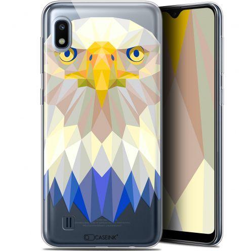 "Carcasa Gel Extra Fina Samsung Galaxy A10 (6.2"") Polygon Animals Águila"