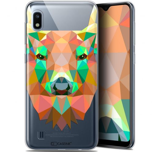 "Carcasa Gel Extra Fina Samsung Galaxy A10 (6.2"") Polygon Animals Ciervo"