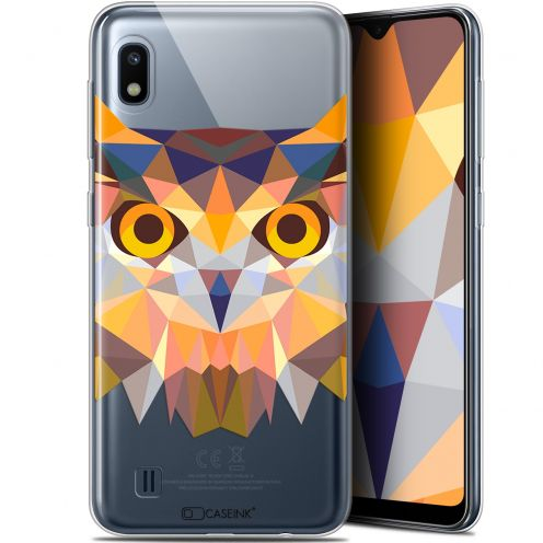 "Carcasa Gel Extra Fina Samsung Galaxy A10 (6.2"") Polygon Animals Búho"
