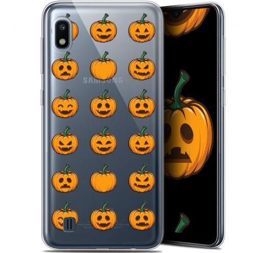 """Carcasa Gel Extra Fina Samsung Galaxy A10 (6.2"""") Halloween Smiley Citrouille"""