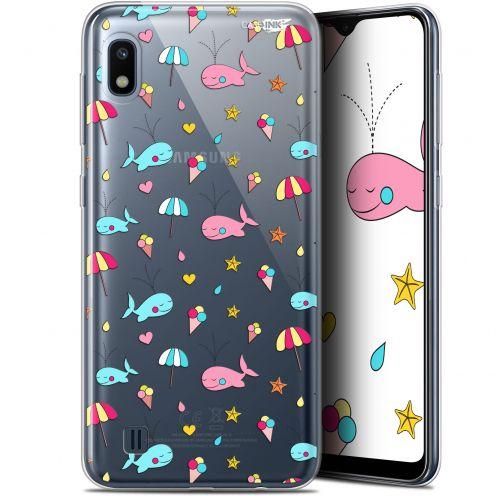 "Carcasa Gel Extra Fina Samsung Galaxy A10 (6.2"") Design Baleine à la Plage"
