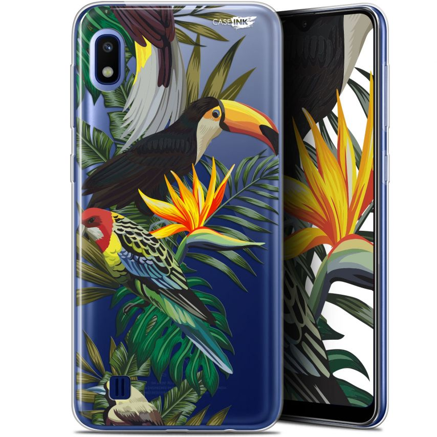 """Carcasa Gel Extra Fina Samsung Galaxy A10 (6.2"""") Design Toucan Tropical"""