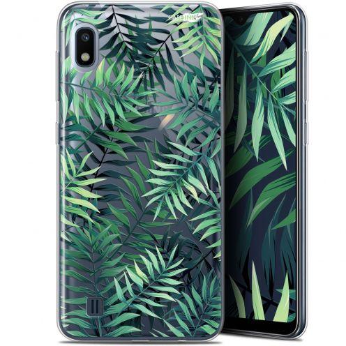 """Carcasa Gel Extra Fina Samsung Galaxy A10 (6.2"""") Design Feuilles des Tropiques"""