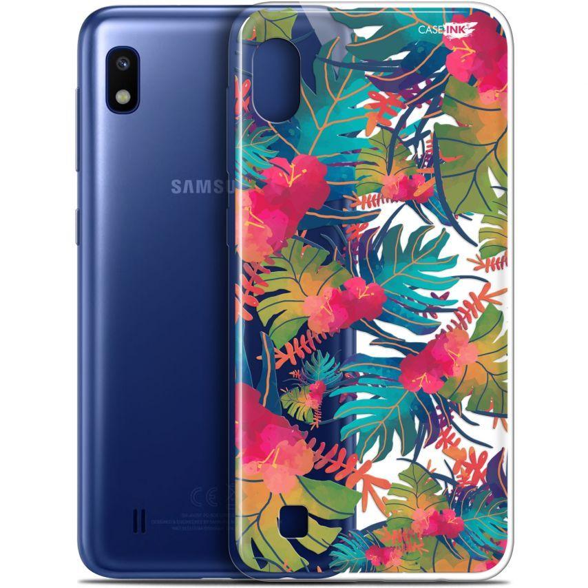 "Carcasa Gel Extra Fina Samsung Galaxy A10 (6.2"") Design Couleurs des Tropiques"