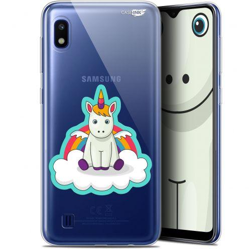 """Carcasa Gel Extra Fina Samsung Galaxy A10 (6.2"""") Design Bébé Licorne"""