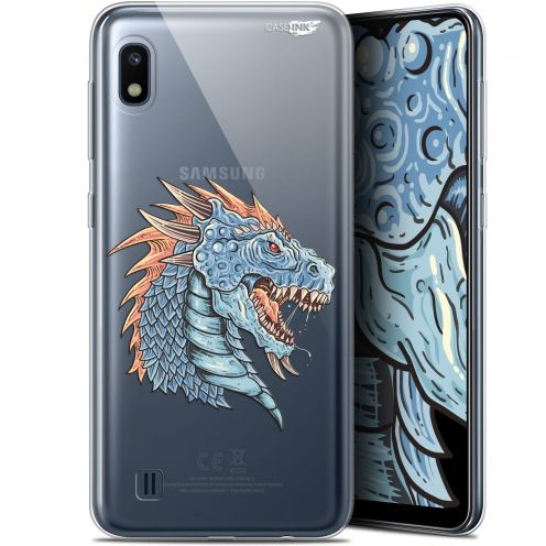 "Carcasa Gel Extra Fina Samsung Galaxy A10 (6.2"") Design Dragon Draw"