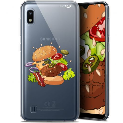 "Carcasa Gel Extra Fina Samsung Galaxy A10 (6.2"") Design Splash Burger"