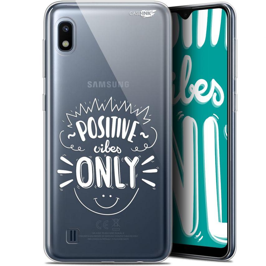 "Carcasa Gel Extra Fina Samsung Galaxy A10 (6.2"") Design Positive Vibes Only"