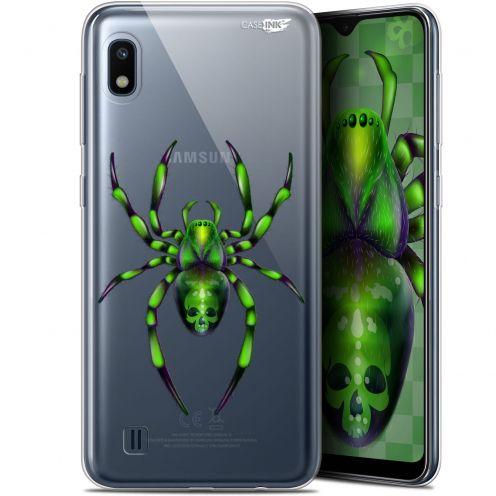 "Carcasa Gel Extra Fina Samsung Galaxy A10 (6.2"") Design Arraignée Verte"