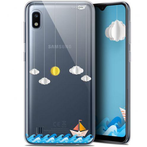 "Carcasa Gel Extra Fina Samsung Galaxy A10 (6.2"") Design Petit Bateau en Mer"