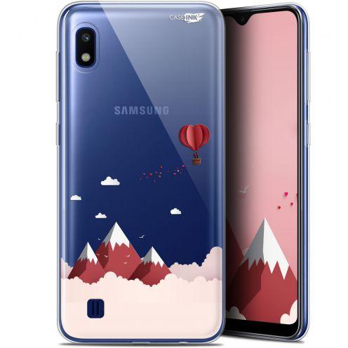 "Carcasa Gel Extra Fina Samsung Galaxy A10 (6.2"") Design Montagne En Montgolfière"