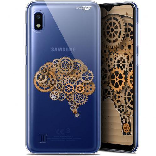 "Carcasa Gel Extra Fina Samsung Galaxy A10 (6.2"") Design Mécanismes du Cerveau"
