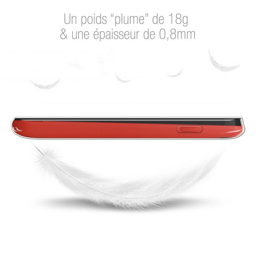 Carcasa Extra Fina 1 mm Flexible Crystal Clear para Wiko Sunny