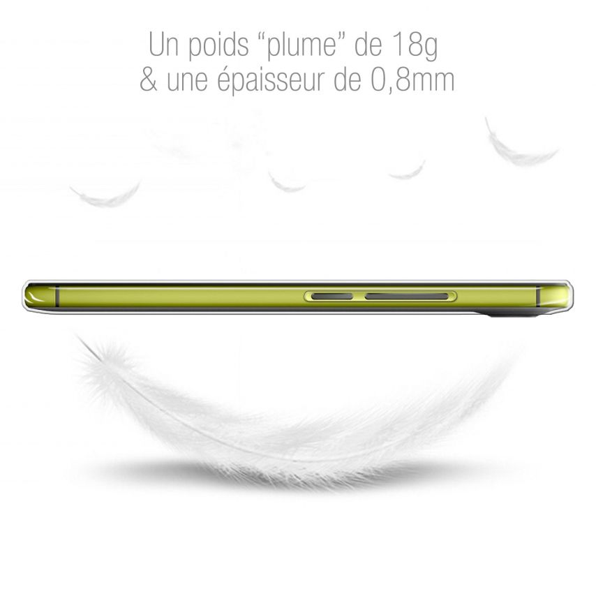 Carcasa Extra Fina 1 mm Flexible Crystal Clear para Wiko U Feel
