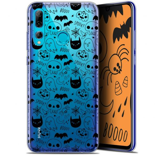 "Carcasa Gel Extra Fina Huawei P Smart+ / Plus 2019 (6.2"") Halloween Spooky"