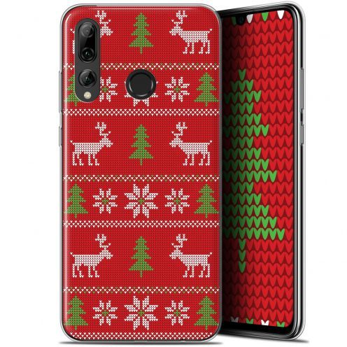 "Carcasa Gel Extra Fina Huawei P Smart+ / Plus 2019 (6.2"") Noël 2017 Couture Rouge"