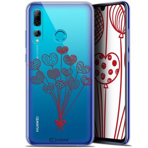 "Carcasa Gel Extra Fina Huawei P Smart+ / Plus 2019 (6.2"") Love Ballons d'amour"