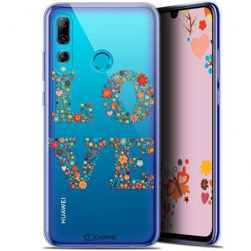 "Carcasa Gel Extra Fina Huawei P Smart+ / Plus 2019 (6.2"") Summer Love Flowers"