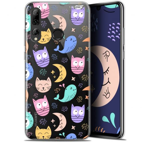"Carcasa Gel Extra Fina Huawei P Smart+ / Plus 2019 (6.2"") Design Chat Hibou"