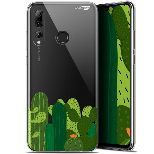 "Carcasa Gel Extra Fina Huawei P Smart+ / Plus 2019 (6.2"") Design Cactus"