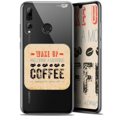 "Carcasa Gel Extra Fina Huawei P Smart+ / Plus 2019 (6.2"") Design Wake Up With Coffee"