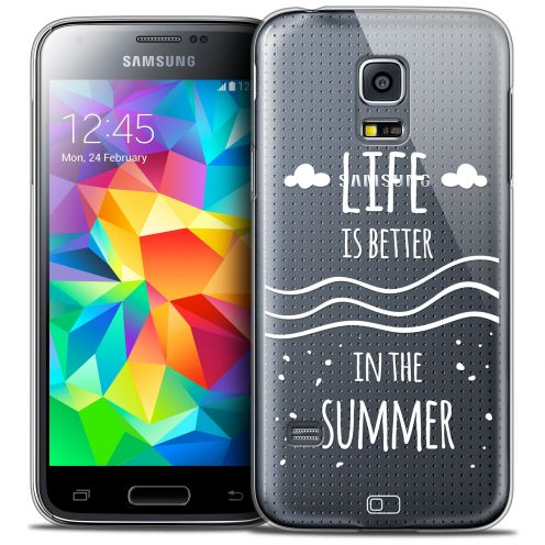 Carcasa Crystal Extra Fina Galaxy S5 Mini Summer Life's Better