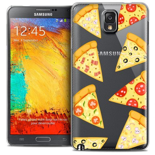 Carcasa Crystal Extra Fina Galaxy Note 3 Foodie Pizza
