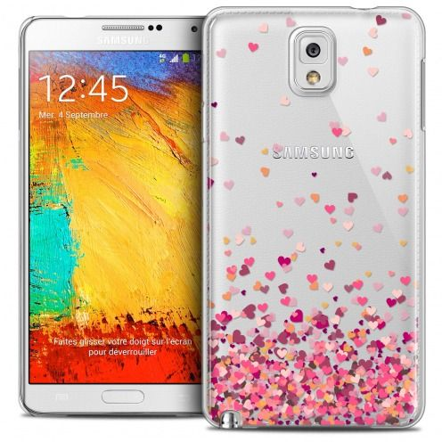 Carcasa Crystal Extra Fina Galaxy Note 3 Sweetie Heart Flakes