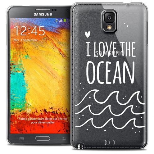Carcasa Crystal Extra Fina Galaxy Note 3 Summer I Love Ocean