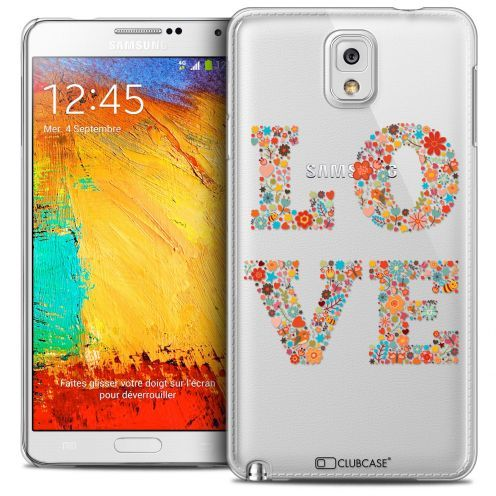Carcasa Crystal Extra Fina Galaxy Note 3 Summer Love Flowers