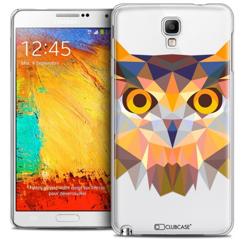 Carcasa Crystal Extra Fina Galaxy Note 3 Neo/Mini Polygon Animals Búho