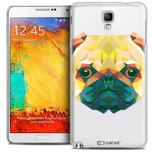 Carcasa Crystal Extra Fina Galaxy Note 3 Neo/Mini Polygon Animals Perro