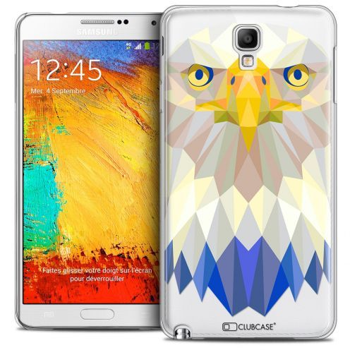 Carcasa Crystal Extra Fina Galaxy Note 3 Neo/Mini Polygon Animals Águila