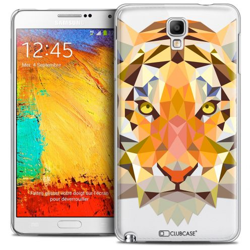 Carcasa Crystal Extra Fina Galaxy Note 3 Neo/Mini Polygon Animals Tigre
