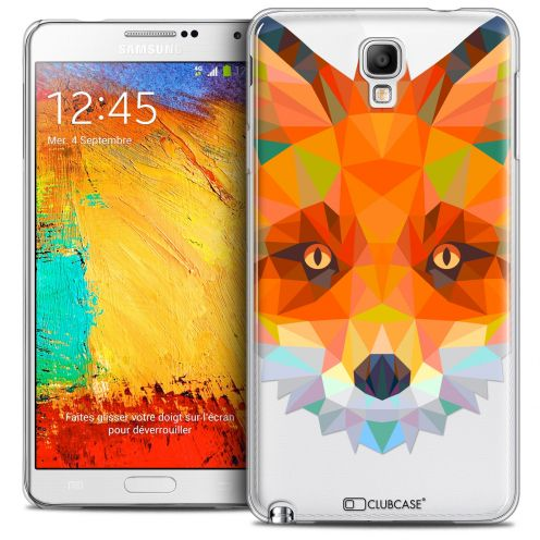 Carcasa Crystal Extra Fina Galaxy Note 3 Neo/Mini Polygon Animals Zorro