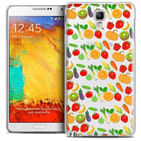 Carcasa Crystal Extra Fina Galaxy Note 3 Neo/Mini Foodie Healthy