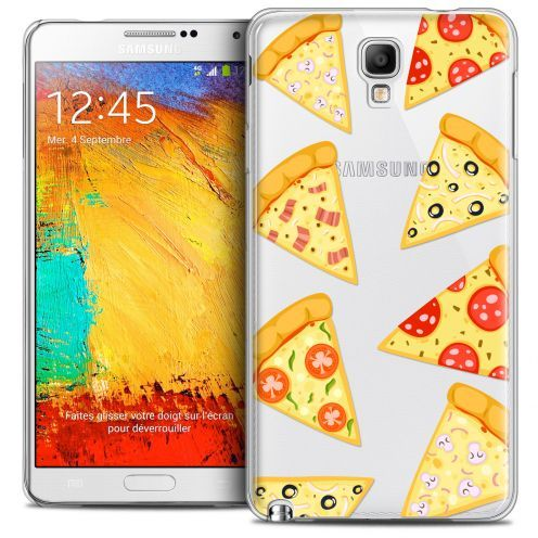 Carcasa Crystal Extra Fina Galaxy Note 3 Neo/Mini Foodie Pizza