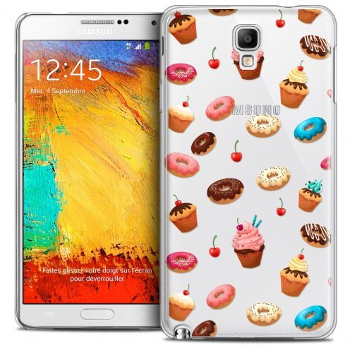 Carcasa Crystal Extra Fina Galaxy Note 3 Neo/Mini Foodie Donuts
