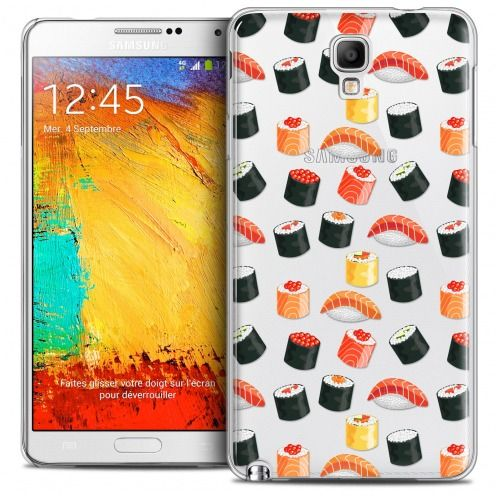 Carcasa Crystal Extra Fina Galaxy Note 3 Neo/Mini Foodie Sushi