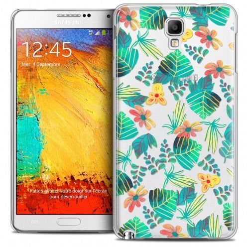 Carcasa Crystal Extra Fina Galaxy Note 3 Neo/Mini Spring Tropical