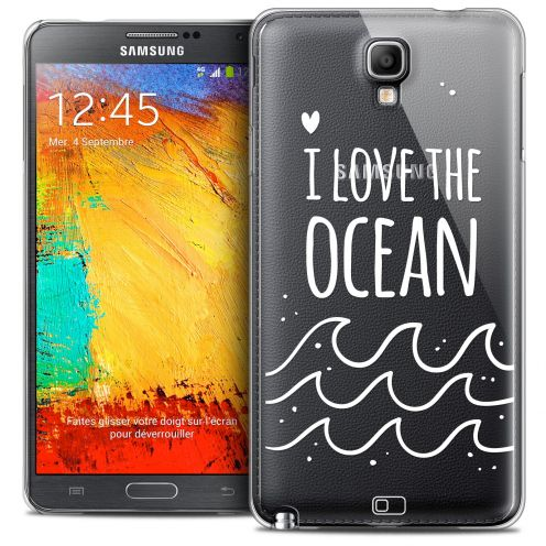 Carcasa Crystal Extra Fina Galaxy Note 3 Neo/Mini Summer I Love Ocean