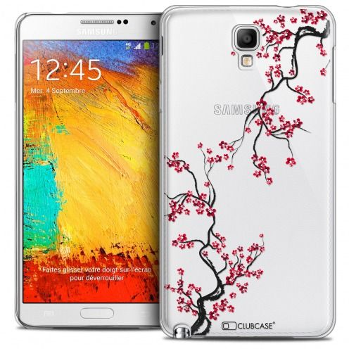 Carcasa Crystal Extra Fina Galaxy Note 3 Neo/Mini Summer Sakura