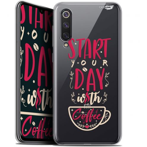 "Carcasa Gel Extra Fina Xiaomi Mi 9 SE (5.97"") Design Start With Coffee"