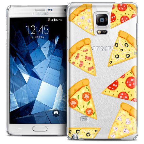 Carcasa Crystal Extra Fina Galaxy Note 4 Foodie Pizza