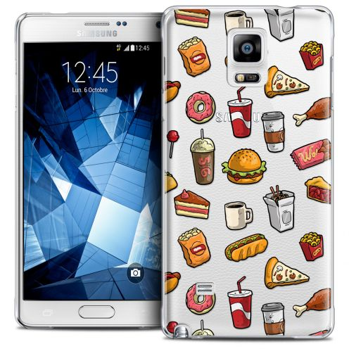 Carcasa Crystal Extra Fina Galaxy Note 4 Foodie Fast Food