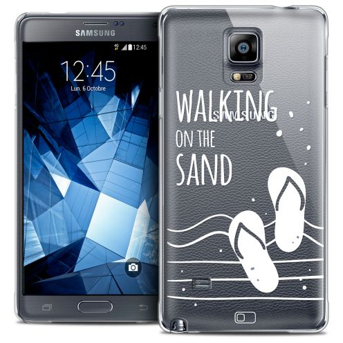 Carcasa Crystal Extra Fina Galaxy Note 4 Summer Walking on the Sand