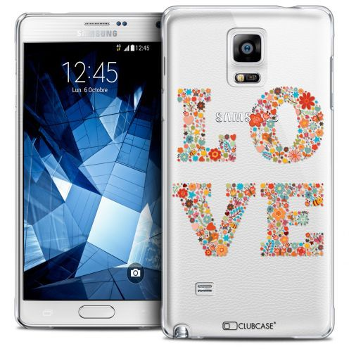 Carcasa Crystal Extra Fina Galaxy Note 4 Summer Love Flowers
