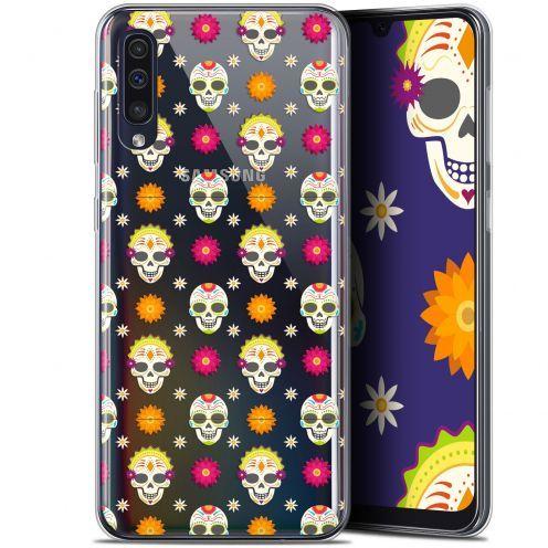 """Carcasa Gel Extra Fina Samsung Galaxy A50 (6.4"""") Halloween Skull Halloween"""