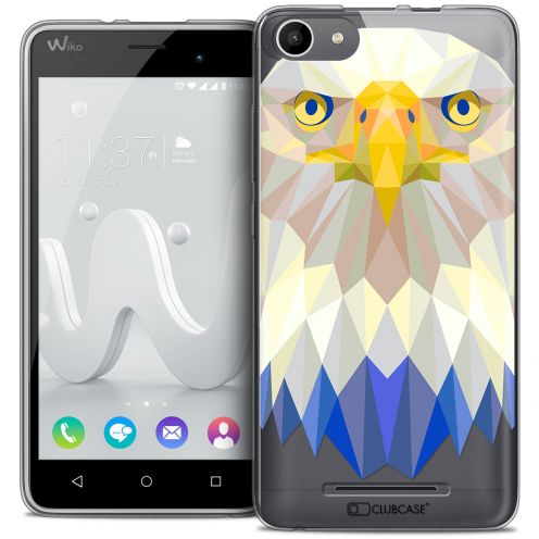 Carcasa Crystal Gel Extra Fina Wiko Jerry Polygon Animals Águila